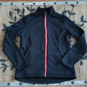 MPG Fleece Lined Zip up Athletic Jacket EUC XL BLK